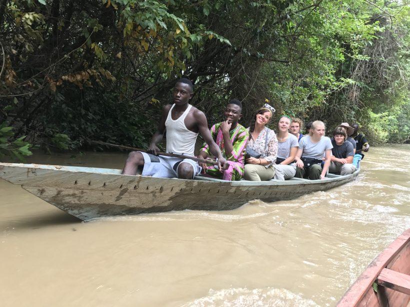 Canoe safari-mognori eco village