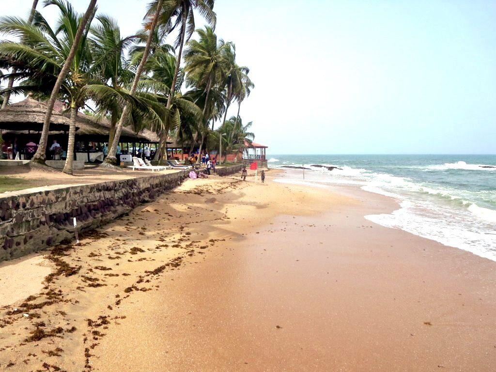 Beaches In Ghana, Cape Coast, Busau Beach-grassroottours.com